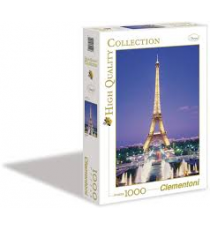 Clementoni 391226. Paris Design. Puzzle 1000 pieces.