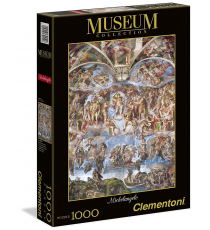 Clementoni 39250. Universal Judgment - Vatican. Puzzle 1000 pieces.