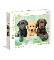 Clementoni 39279. The three Labradors