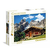 Clementoni 392971. Austria: House of the mountain Design. Puzzle 1000 pieces