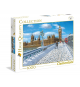 Clementoni 39320. London in the snow. 1000 pieces puzzle