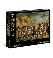 Clementoni 39345. The Rapture of Sabina. Puzzle of 1000 pieces.