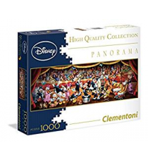 Puzzle 1000 Pieces - Classic Disney Panorama 39347