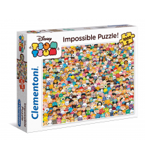 Clementoni 39363. Impossible Tsum Tsum. Puzzle 1000 pieces