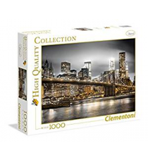 Clementoni 39366. New York Skyline design. Puzzle 1000 pezzi