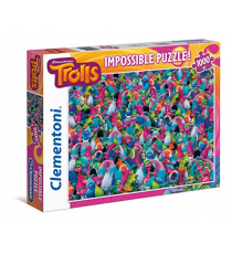 Clementoni 39369. Puzzle design Trolls. 1000 pieces.