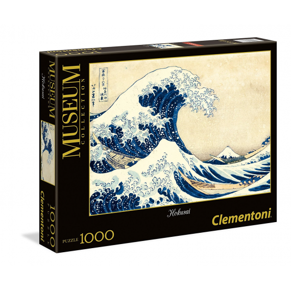Clementoni 39378. The Great Wave Design. Puzzle 1000 pezzi.