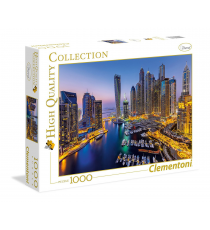 Clementoni 39381. Dubai design. Puzzle 1000 pieces