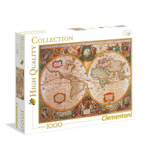 Clementoni 39384. Map of Europe design. Puzzle 1000 pieces