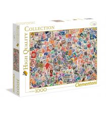 Clementoni 39387. Stamps Design. Puzzle 1000 pieces