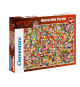 Clementoni 39388. Emoji design. Puzzle 1000 pieces
