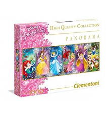 Clementoni 39390. Disney Princesses Design. Puzzle 1000 pieces