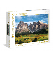 Clementoni 39414. The Coronation of the Alps Design. Puzzle 1000 pieces