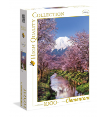 Clementoni 39418. Mountain Fuji design. Puzzle 1000 pieces