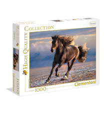 Clementoni 39420. Running Horse design. Puzzle 1000 pieces