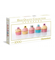 Clementoni 39425. Design Muffins with Liquor. Puzzle 1000 pieces.