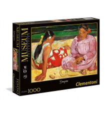 Clementoni 39433. Women of Tahiti on the beach Design. Puzzle 1000 pieces.