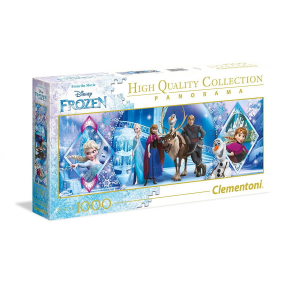 Clementoni 39447. Frozen design. Puzzle 1000 pieces.