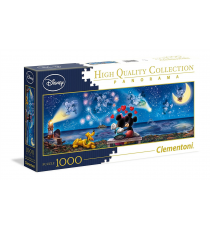 Clementoni 39449. Mickey & Minnie Design. Puzzle 1000 pieces.