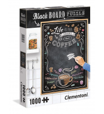 Clementoni 39466. Coffee blackboard design. Puzzle 1000 pieces.