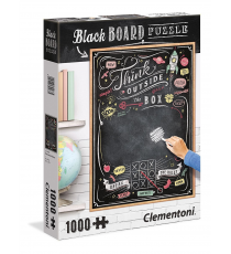 Clementoni 39468. Design Blackboard. Puzzle 1000 pieces.