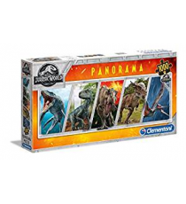 Clementoni 39471. Jurassic World Design. Puzzle 1000 pieces.