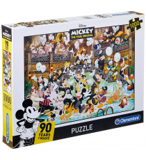 Clementoni 39472. Design Mickey Mouse 90 anniversary. Puzzle 1000 pieces.