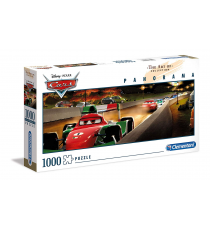 Clementoni 39488. The Art of Disney: Cars. Puzzle 1000 pieces.