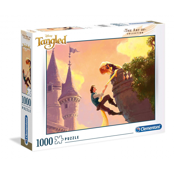Clementoni 39490. Tangled. Puzzle 1000 pieces.