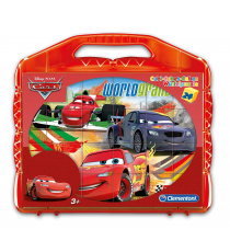 Cars 42447. Puzzle cubes for babies (24 cubes).