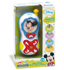 Clementoni 65348. Mickey mobile phone with voice lights and sounds