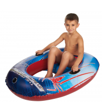 Spiderman beach inflatable boat 120 x 90 cm
