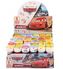 Cars 3 103682000. Soap bubbles 60ml. Unit.