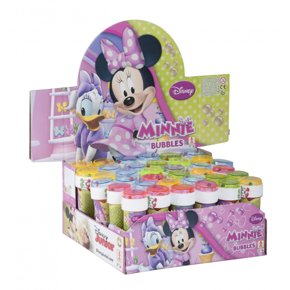Disney 397053800A Minnie - Pompas de jabón 60ml