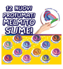 Softy Melmito Slime 02418R. Slime Display de 12 unités