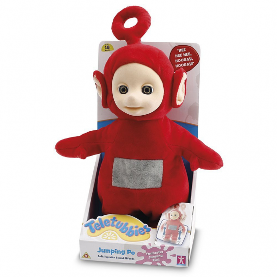 Teletubbies TLB09000. Teddy jumping PO 28 cm