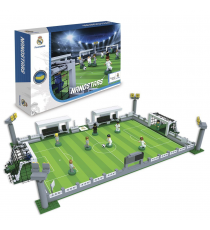 Nanostar NAN05010. Real Madrid Stadium. 9 figures and 250 pieces.