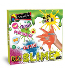 D.I.Y. FAI DA TE Slime 47006. Neon colors. Unit.