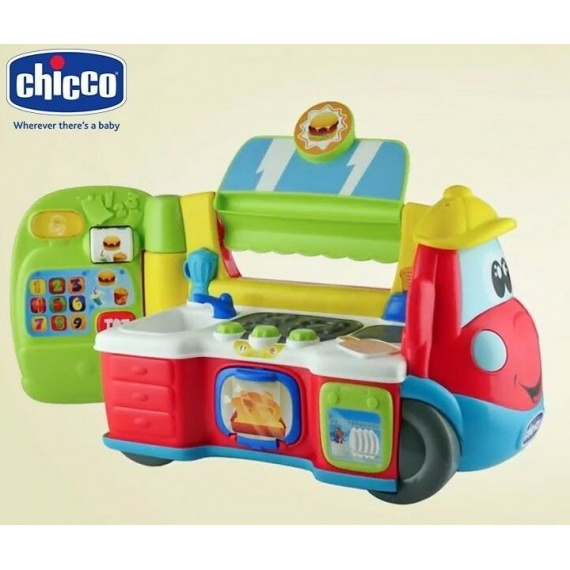 Chicco 7416. Caravana Food Truck.