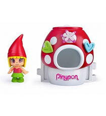 Pinypon 700012733D. Dwarf figure with red hat