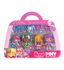 Pinypon 700012916. Pack of 4 figures: Michelle, Lilith, Sam & Dior