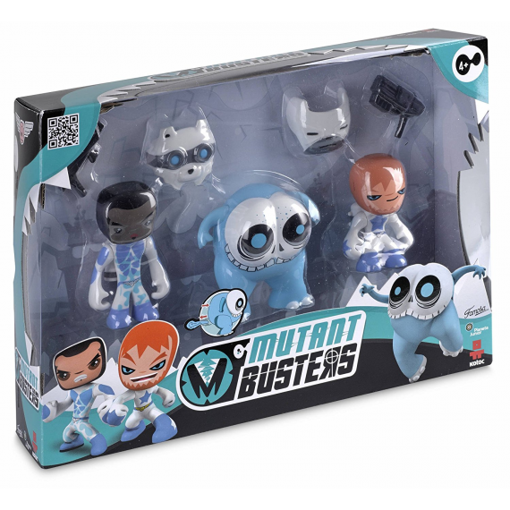 Mutant Busters 700012142B. Set 3 snow figures