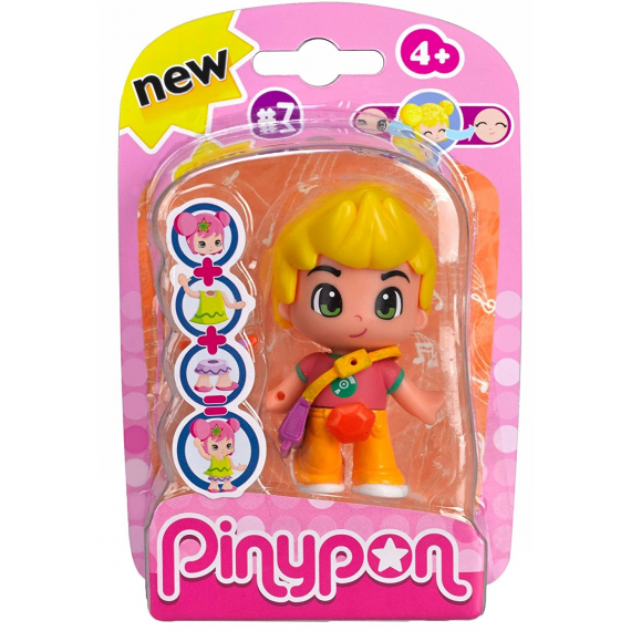 Pinypon 700013369B. Figure - Blond hair child