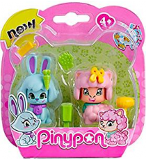 Pinypon 700012732C. Pack of 2 pets.