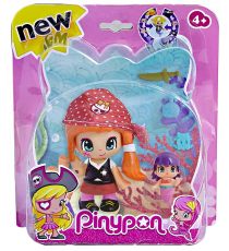 Pinypon 700013363B. Pirate Figure Red Hat