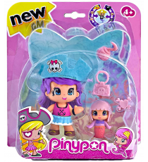 Pinypon 700013363D. Pirate Figure Blue Hat