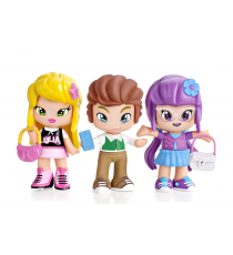 Pinypon 700013378B. Piny Pack de 3 figuras. Julia, Lilith & Will