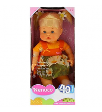Nenuco 700013834A. Pretty blonde doll like you with orange dress