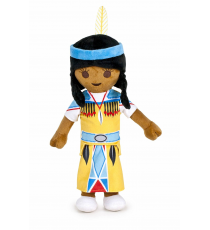Playmobil 760015941D. Soft Toy 30cm. Indian Girl Character.