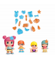 Pinypon 700014101. Pack 4 figuras.